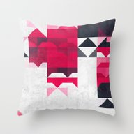 Ryspbyrry Xhyrrd Throw Pillow
