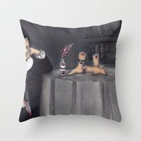 Juana de Asbaje Throw Pillow