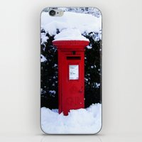 Christmas Card Time iPhone & iPod Skin