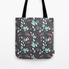 Nighttime Dandelions Tote Bag