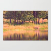 Pastel Reflections Canvas Print