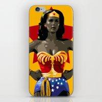 Wonderwoman iPhone & iPod Skin