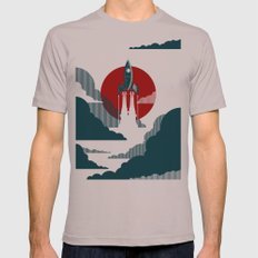 The Voyage Mens Fitted Tee Cinder SMALL
