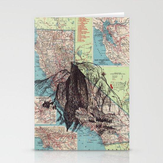California Stationery Card