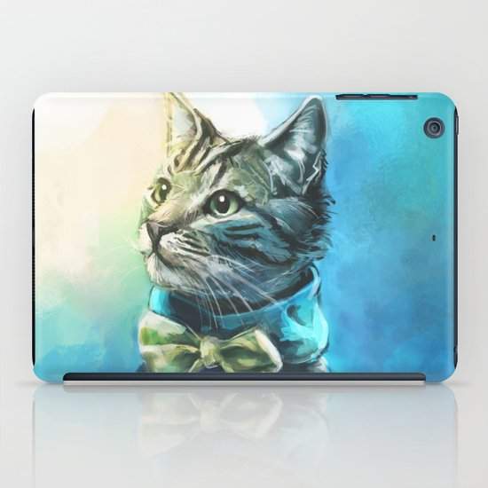 Handsome Cat iPad Case