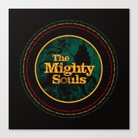 The Mighty Souls: Reggae… Canvas Print