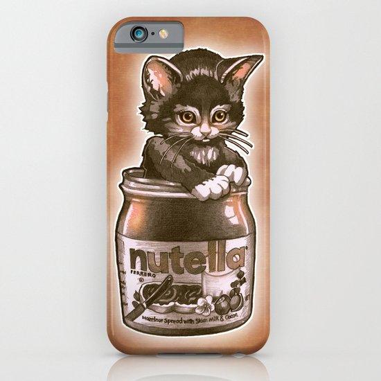 Kitten Loves Nutella iPhone & iPod Case
