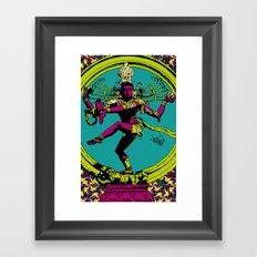 Natraj Dance Framed Art Print