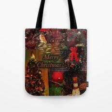 The Christmas collage merry christmas Tote Bag