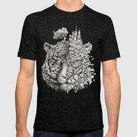 Equilibrium Mens Fitted Tee Tri-Black SMALL