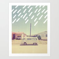 Volkswagen, New Mexico Art Print