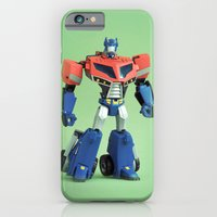 iPhone & iPod Case featuring Optimus Prime (Animated) by Fanboy30