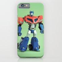 Optimus Prime (Animated) iPhone 6 Slim Case