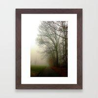 Foggy Morning 4 Framed Art Print