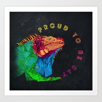 Proud To Be Gay Art Print
