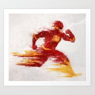 Speed V.2 Art Print