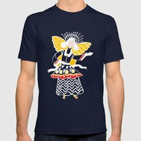 Hark Mens Fitted Tee Navy SMALL