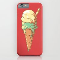 iPhone & iPod Case featuring Ice Cream by Fightstacy
