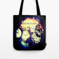 Seize The Moment Tote Bag