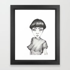 ..rarely Human Framed Art Print