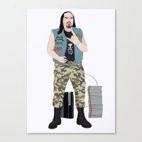 Metalhead Gamer Canvas Print