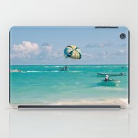 Dreaming of vacation iPad Case