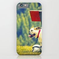 iPhone & iPod Case featuring bullDog by Silvia Giacoletto