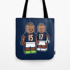 Bears Bricked: Brandon Marshall & Alshon Jeffery Tote Bag