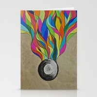 Colour Sketch  Stationery Cards