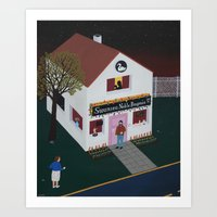 Swansea Noble Bagnio  Art Print