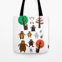 Bears, Grizzly And Other Tote Bag