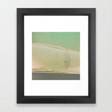 Voile de brûmes Framed Art Print