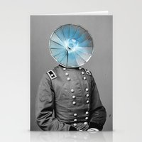 Electric General Stationery Cards