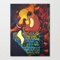 Fish Bowl Canvas Print