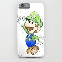 Luigi Watercolor Art iPhone 6 Slim Case