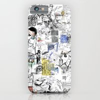 iPhone & iPod Case featuring Sketches by Sergi Ferrando