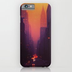 42nd Street, NYC - The Chrysler Building at Sunset iPhone 6 Slim Case