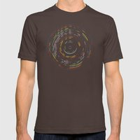 Rainbow Record Mens Fitted Tee Brown SMALL
