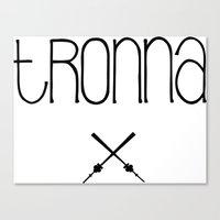 TRONNA - BEST CITY Canvas Print