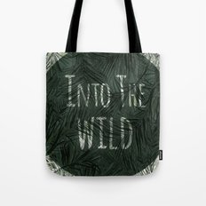 into the wild *palms Tote Bag