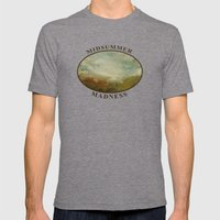 Midsummer Madness Mens Fitted Tee Tri-Grey SMALL