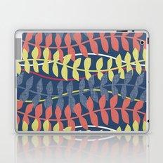 seagrass pattern - blue red yellow Laptop & iPad Skin