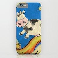 Cow - blue iPhone 6 Slim Case