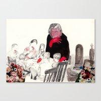 Picnic at Walpurgisnacht Canvas Print
