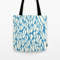 Feathered Fringe Tote Bag