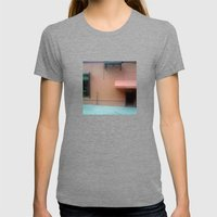Puttanesc...NYC Womens Fitted Tee Tri-Grey SMALL
