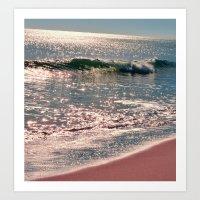 Sparkle Morning Sea Art Print