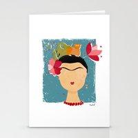 Frida Stationery Cards