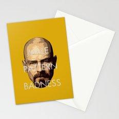 Male Pattern Badness Stationery Cards