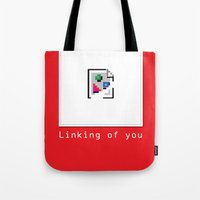 Talk Nerdy to me - Linking of you Tote Bag